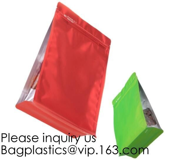 Aluminum Foil Medicine Weed Seeds Packaging bag with Zip Lock,Barrier Stand up Plastic Food Packaging Bag Retort Pouch f