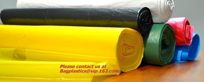 Compostable Biodegradable Household Easy Grab Trash Bags,Star Seal Rolls,Heavy Duty Can Liners, Garbage Bags, Bulk Contr