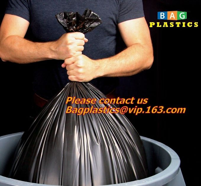 Double Wave Thicken Small Trash Bags,15-Liters Bin Bags Wastebasket Bags for Office,Kitchen,Home Trash Can,Bathroom,Bedr