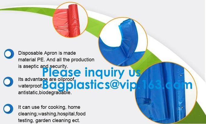 Reusable Heavy Duty Poly Aprons The best Kitchen Cooking Apron,Multipurpose Disposable Aprons Waterproof Arts & Crafts,P