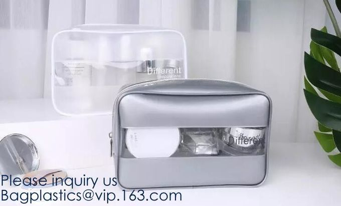 Eco Firendly, Biodegradable, PVC, EVA, TPU, Makeup Bags Set Waterproof Wash Bag, Cosmetic Makeup Bags, Bagease, Bagplast