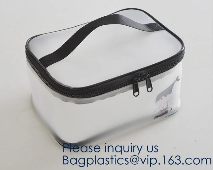 Hanger bags, Clothes Underwear, Large Clear Makeup Bag Toiletry Cosmetic Organizer Bag Portable Travel Toiletry Tote Bag