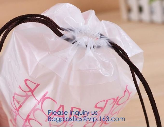 Gift,Treat,Wrapping And Goodies,Convenience,Shopping,Gym,Storage,Garment Bags,Dust Cover Big Plastic Drawstring Bags Mul
