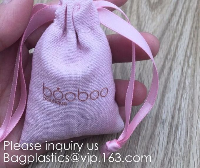 Cotton Muslin Bags with Drawstring Gift Bags Jewelry Pouches Sacks for Wedding Party and DIY Craft,gifts, jewelries, sna