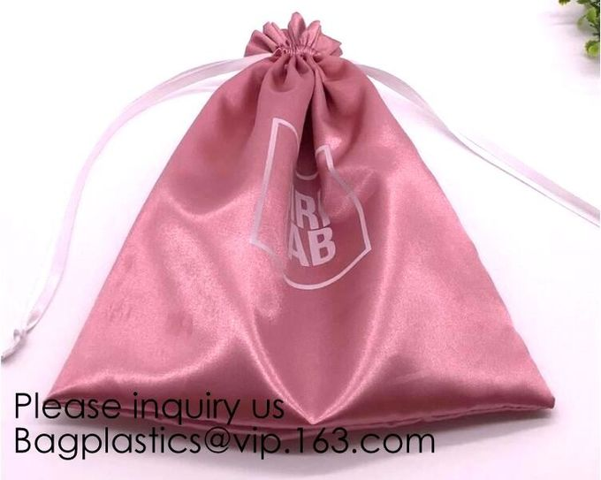 11.5x13.0cm/4.6''x5.2'' Rose Satin Lined Embroidery Drawstring Silk Brocade Bags,Jewelry Packing Organza package pack