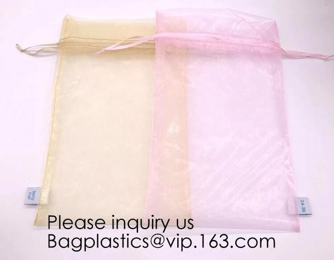 Organza Packing Pouch Bag Hot Sale Products Jewelry Packaging Organza Bags for Bracelet Beads Gift Pouch BAGEASE PACKAGE